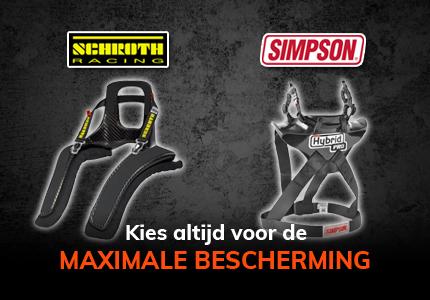 Maximale bescherming vind je natuurlijk bij Pro-Racing